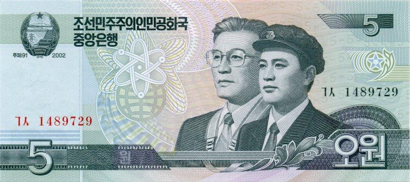 Северная Корея (КНДР) - валюта Северокорейская вона