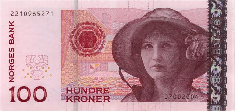 Королевство Норвегия - валюта Норвежская крона