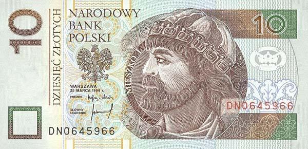 Республика Польша - валюта Злотый