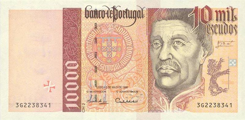 Республика Португалия - валюта Португальский эскудо (евро)