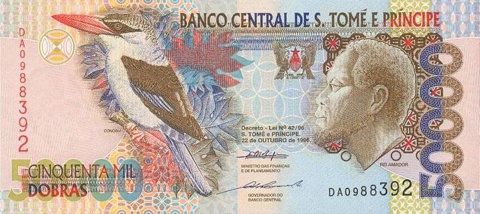 Республика Сан-Томе и Принсипи - валюта Добра