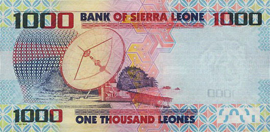 Республика Сьерра-Леоне - валюта Леоне