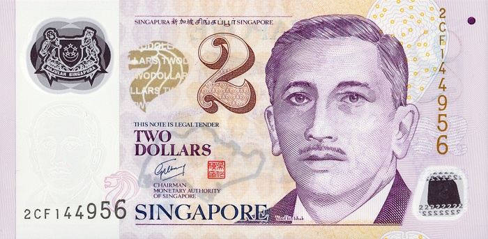 Республика Сингапур - валюта Сингапурский доллар