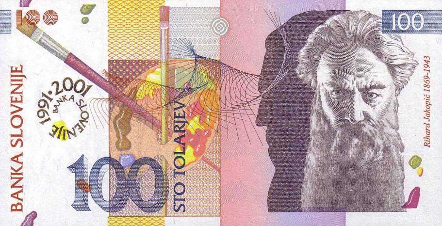 Республика Словения - валюта Словенский толар (евро)