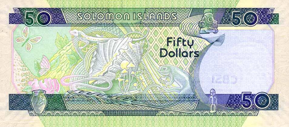 Содружество Соломоновы Острова - валюта Доллар Соломоновых Островов