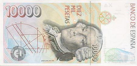 Королевсто Испания - валюта Песета (евро)