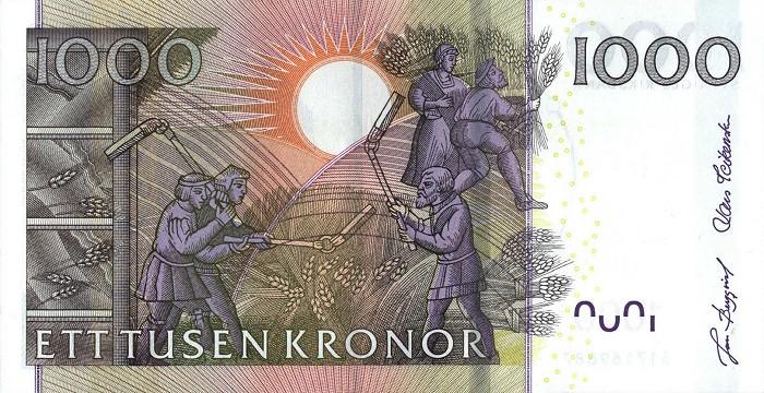 Королевство Швеция - валюта Шведская крона