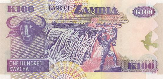 Республика Замбия - валюта Замбийская квача