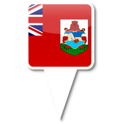 Флаг заморской территории Великобритании - Бермуды