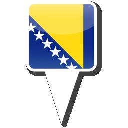 Флаг Республики Босния и Герцеговина