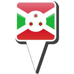 Флаг Республики Бурунди