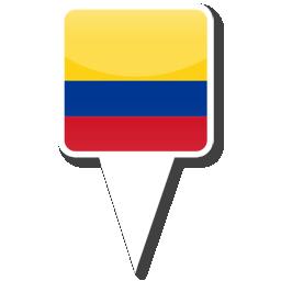 Флаг Республики Колумбия