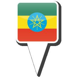 Флаг Федеративной Демократической Республики Эфиопия