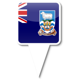 Флаг Фолклендских (Мальвинских)островов , заморская территория Великобритании