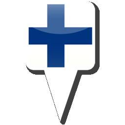 Флаг Республики Финляндия