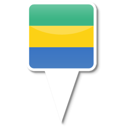 Флаг Республики Габон
