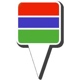 Флаг Республики Гамбия