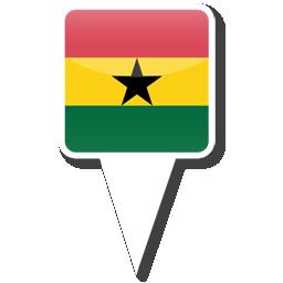 Флаг Республики Гана