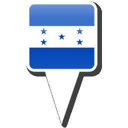 Флаг Республики Гондурас