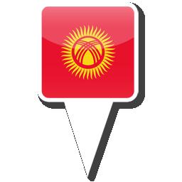 Флаг Республика Киргизия