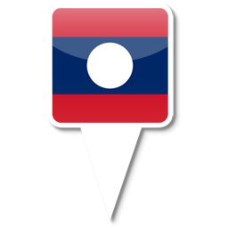 Флаг Лаосской Народно-Демократической Республики