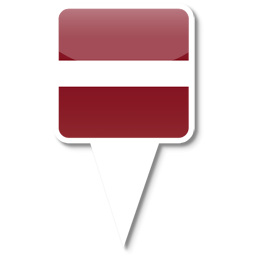 Флаг Республики Латвия