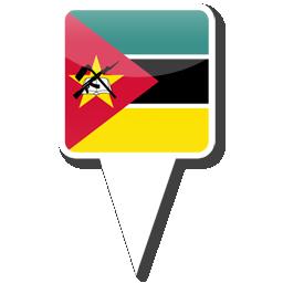 Флаг Республики Мозамбик