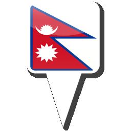 Флаг Королевства Непал