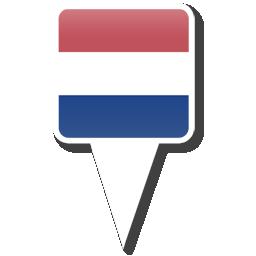 Флаг Королевства Нидерланды