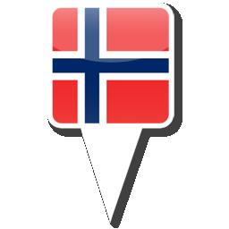 Флаг Королевства Норвегия