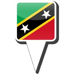 Флаг Федерация Сент-Китс и Невис