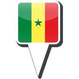 Флаг Республики Сенегал