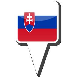 Флаг Республики Словакия