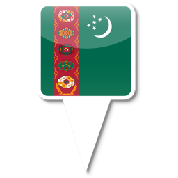 Флаг Республики Туркменистан
