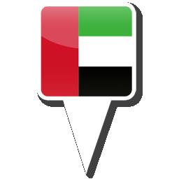 Флаг - Объединенные Арабские Эмираты