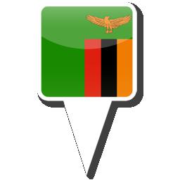 Флаг Республика Замбия