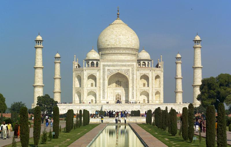 Мавзолей Тадж-Махал. Могущественная цивилизация дравидов существовала в древности на территории Индии.
