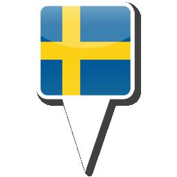 Флаг Королевства Швеция