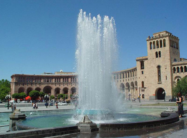 Фонтан в Ереване